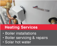 Heating Services Derbyshire
